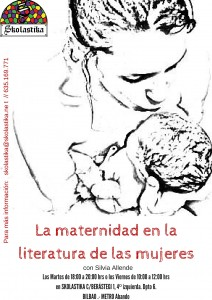 anuncio 2016_La maternidad en la literatura de las mujeres